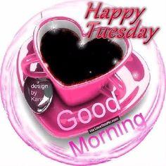 God morgon ☕🌹🍃Så blev det tisdag 🌸Värk i kroppen som vanligt på morgonen 😑Men vattengympa o paraffinbehandling blir det😊💚💛Ha en fin tisdag alla🍃🌹 #tisdag #skitvärk #vattengympa #paraffinbehandling