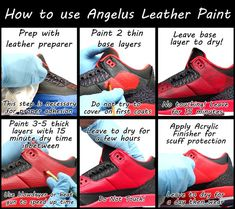 How-To | Learn how to do your own customs or see the best at it! | Angelus Brand sneaker paint, dye, cleaners and more