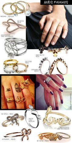 Coisas De Diva » Alerta de tendência: anéis fininhos!