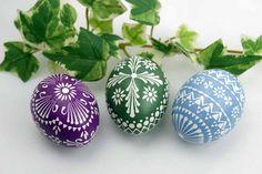 Easter Egg Pattern, Home Grown Vegetables, Easter Egg Designs, Origami, Egg Decorating, Happy Easter, Easter Eggs, Diy Crafts, Holiday Decor