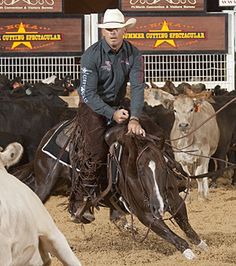 "Ride a Champion Cutting Horse like ""Indian Rick"""