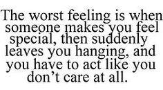 the worst feeling