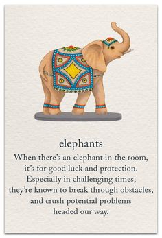 Never Have only one elephant. If you don't have a pair you have to turn your one elephant upside down, otherwise don't keep it in your house. Buddhism Symbols, Spiritual Symbols, Sanskrit Symbols, Buddhism Tattoo, Meditation Tattoo, Positive Quotes, Motivational Quotes, Inspirational Quotes, Small Inspirational Tattoos