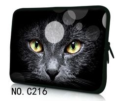 "Black Cat Cool Notebook Bag Cover For ipad MacBook Laptop Sleeve Case 7.9"" 9.7'' 13 '' 13.3 '' 14'' 15.4 '' 15.6'' 17.3'' 17.4'' #Affiliate"