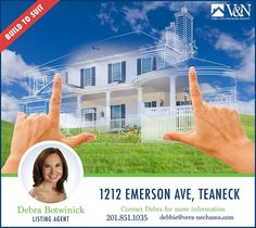 Looking for a house? Contact us for more listings! Debra Botwinick - V & N Realty - 201-851-1035 or visit us online at http://ift.tt/1PBqWz7  #teaneck #bergenfield #newmilford#realestate #veranechamarealty#njrealestate #realtor #homesforsale  More Listings. More Experience. More Sales. - http://ift.tt/1QGcNEj