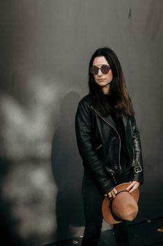 Rolf spectacles x faceprint x sunglasses Eyewear, Leather Jacket, Sunglasses, Jackets, Inspiration, Style, Fashion, Studded Leather Jacket, Down Jackets
