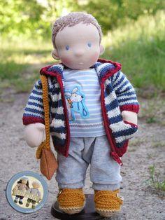 Stas- waldorf inspired boy doll Waldorf Dolls, Boy Doll, 18 Inch Doll, Little Darlings, Doll Clothes Patterns, Fabric Crafts, Craft Projects, Teddy Bear, Toys