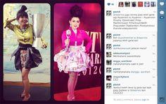Parade Foto Syahroni vs Syahrini, Mana Yang Lebih Oke? - Penerimaan Awards