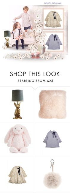 """""""fashionbabyplace.com - Children's stars outfits"""" by fashionbabyplace ❤ liked on Polyvore featuring PBteen, Pillow Decor, Jellycat, Fendi and GUESS"""