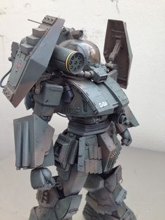 1/48 Soltic Round Facer: Mixing Build w/MG Zaku 2.0 Modeled by obiobi. Photoreview Wallpaper Size Images