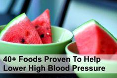 40+ Foods That Help Lower Blood Pressure