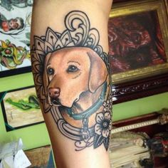 39 dog tattoos to celebrate your four-legged best friend: Non-traditional…