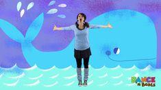Preschool Learn to Dance: Big Blue Whale - YouTube