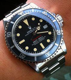 Rolex Submariner Single Red