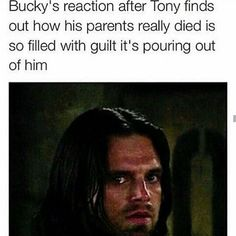 There are actual tears in his eyes. Amazing acting. Bucky continues to break my cold dead heart.