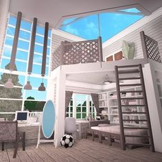Two Story House Design, Tiny House Layout, House Layout Plans, House Layouts, Tiny House Bedroom, Bedroom House Plans, House Rooms, Modern Family House, Family House Plans