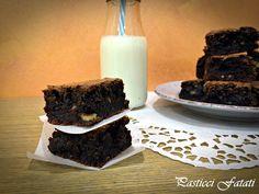Brownies+alle+noci+e+cioccolato+fondente