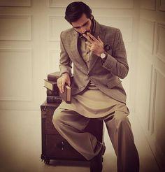 #HasnainLehri @rizwan.haq #ismailfarid #eid #campaign #menswear #styling #by @nabila_salon  @n.gents @zairm #oldschool #classic #retro