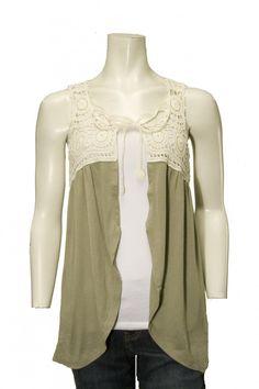 6863e323bb16 92 Best sleeveless cardies images   Coast coats, Jacket, Lace