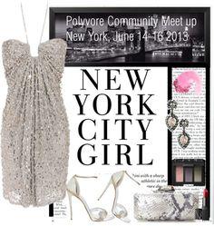 """Polyvore Community Meet Up, N.Y.C June 14-16 2013."" by irishrose1 ❤ liked on Polyvore"