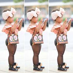 Moda para niña lol 😂 cute Cute Kids Fashion, Little Girl Fashion, Toddler Fashion, Cute Girl Outfits, Cute Outfits For Kids, Toddler Girl Outfits, Instagram Boys, Cute Baby Girl, Cute Babies