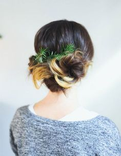 Christmas Party Hairstyle