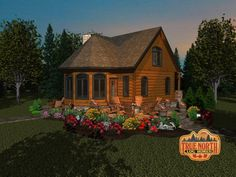 Cottage Life Special True North Log Homes thumbnail Source by [post_tags Log Cabin Floor Plans, Cabin House Plans, Tiny House Cabin, Dream House Plans, Small House Plans, House Floor Plans, Mountain House Decor, Mountain Living, Mountain Homes