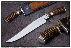Bowie knife by Master Smith Russ Andrews russandrews@sbcglobal.net
