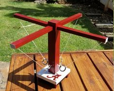 Diy Yard Games, Backyard Games, Outdoor Games, Outdoor Fun, Diy Wood Projects, Woodworking Projects, Hook Game, Outside Games, Bar Games