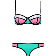 Swimwear ($89) ❤ liked on Polyvore