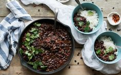 <p>This Colombian black bean stew is proof that healthy plant-based food does not need to be complicated or expensive. </p>