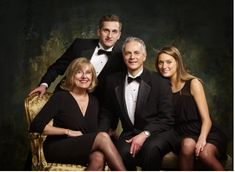 Nice family portrait-Great for Holidays