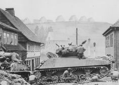 Tank photo St. Andreasburg, Germany (1945)
