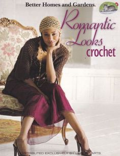 Romantic-Looks-Crochet-Leisure-Arts-Pattern-Book-4324-Skirt-Dress-Jacket-amp-More