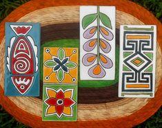 Rec-tan-gu-la-res💟 Cerámicas realizadas a mano con diseños estilos y tamaños que necesites #artesaniaargentina #hechoamano…