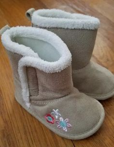 a3848b8cd0 Carter s Infant Boots Cream 3-6 Months  fashion  clothing  shoes   accessories