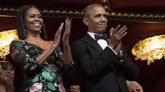 Michelle Obama stuns at Kennedy Center Honors