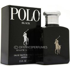 """ Polo Black by Polo Ralph Lauren Cologne 1 36 oz EDT """