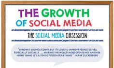 Infografik: Wachstum sozialer Netzwerke