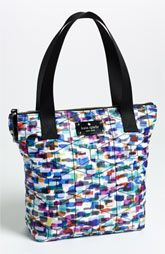 kate spade new york 'small' embroidered bon shopper