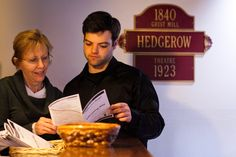 Fellowships and Internships - HEDGEROW- America's First Repertory Theatre