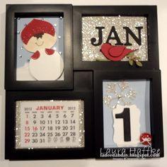 Stampin' Up!  Calendar  Laura Haffke