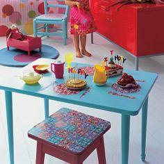 Des meubles d'enfant personnalisés