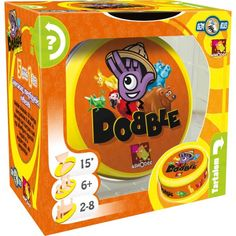 Dobble Animals - Brand New & Sealed Rebel, Secret Game, Kids Toys, Children's Toys, Board Games, Whisky, Snack Recipes, Chips, Fun