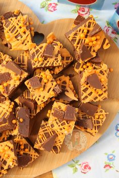 Easy, Delicious, and oh so Chocolatey.. Terry's Chocolate Orange Fudge that is SO easy to make you'll be making it again and again. This is officially my NINTH Terry's Chocolate Orange recipe on my blog… and I am not ashamed. Not even slightly. I knew I wanted to do Chocolate Orange since I posted myTerry's Chocolate Orange Trufflesrecipe a few months ago, and I am SO glad that I finally did. It is HEAVENLY. Like, I struggled to only eat a respectable amount of the fudge to myself. I ended…