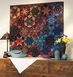 Luminosity Stars quilt. in: Everyday Life at Leisure: Fons & Porter Quilt Pattern Books