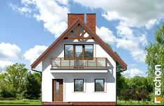 Dom w sasankach Home Fashion, Cabin, House Styles, Home Decor, Brick Homes, Decoration Home, Room Decor, Cabins, Cottage