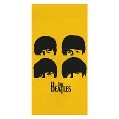 2016 Custom Classic Band&The Beatles Printed Soft Bamboo Fiber Towels/Drying Bath Drying Washcloth_Size:35CMX70CM