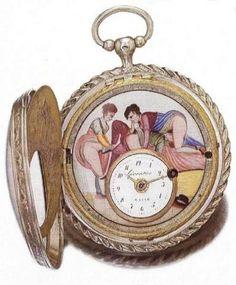 Эротика. Старинные часы.18-20 век. - Интересное и забытое - быт и курьезы прошлых эпох.