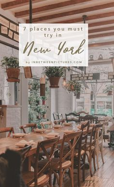 Where to eat in NYC 7 Places You Must Try In New York City - A foodie's guide to the big apple. Recommendations from upscale Michelin star restaurants to the recently featured eatery on the Netflix's show, Ugly Delicious. Usa Roadtrip, Travel Usa, Travel Tips, Travel Guides, Travel Destinations, Restaurants In Nyc, 7 Places, Places To Eat, New York City Travel